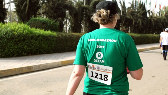 Many participants ran in aid of local and international charities in Erbil.