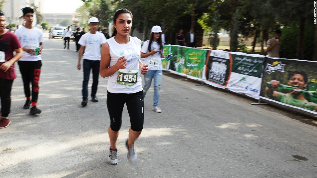 The annual Erbil International Marathon took place on Friday, October 27. The full 42km race, however, was canceled, with only the 5km and 10km events going ahead, due fighting between federal Iraqi forces and the Kurdish Peshmerga close to the city.