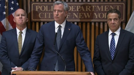 NYC mayor on attack: Cowardly act of terror