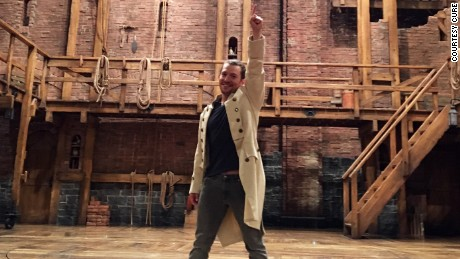 "Miguel Cervantes, star of the Chicago production of ""Hamilton,"" says he was inspired by the show to get involved in epilepsy awareness."