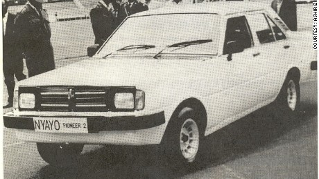 Nyayo Car, built as part of a Kenyan government project beginning in 1986.