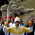 First Greek torchbearer for Pyeongchang 2018  Apostolos Angelis