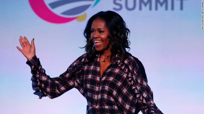 Michelle Obama: You don't tweet every thought