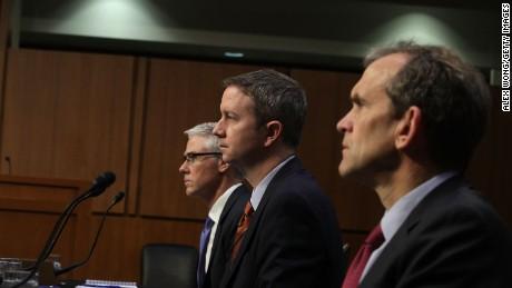Senators hammer Facebook, Twitter, Google execs again
