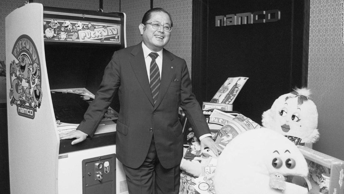 Masaya Nakamura was the founder of Namco, which published Pac-Man. He is widely credited with masterminding the video game craze.