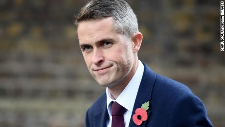 Gavin Williamson arrives in Downing Street after he was named as the new UK Defense Secretary on Thursday.