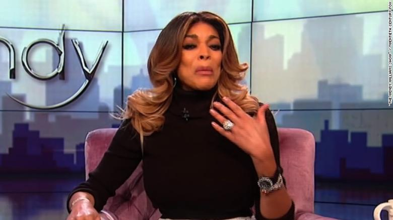 Wendy Williams explains fainting incident
