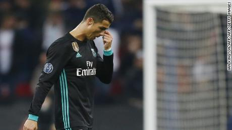 Real Madrid were thumped by Tottenham in the Champions League