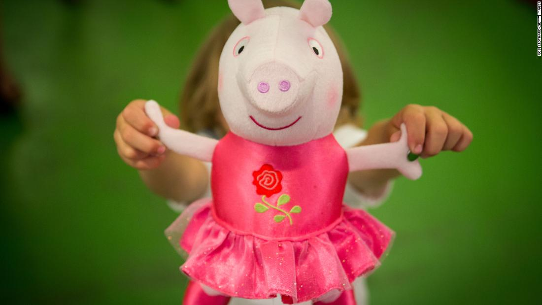 "This cartoon television series aimed at young children follows Peppa, her family and friends as they play in the mud, snort, and go about their daily lives.<br /><br />The program is shown in 180 countries. There is a heap of ""Peppa Pig"" merchandise on the market, from stuffed toys to video games and even food, clothing and jewelry.<br /><br />There is even a dedicated Peppa Pig World within a family theme park in Hampshire, England, with over 60 Peppa-themed attractions. Milan, Italy,  is home to another attraction, Il Mondo Di Peppa Pig, in a theme park."