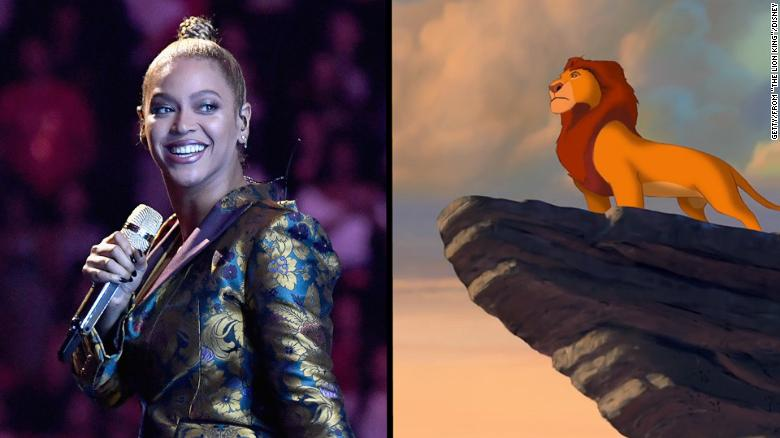 'If Beyoncé's in it, it's 'The Lion Queen''