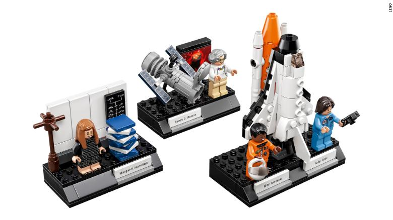 Lego's 'Women of NASA' sale lifts off, lands as best-selling toy - CNN