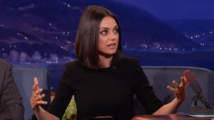 Mila Kunis' daughter 'too logical' for Santa