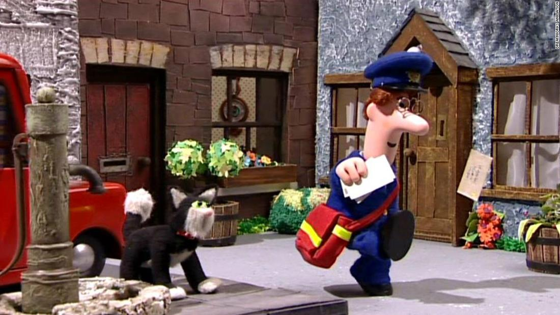 "First airing in 1981, ""Postman Pat' follows Pat and his black and white cat Jess in the fictional town of Greendale.<br /><br />The stop motion animated children's series has been sold to over 100 countries.<br /><br />In France, Postman Pat is called ""Pierre Martin"" and in the Netherlands the series is called ""Pieter Post."""