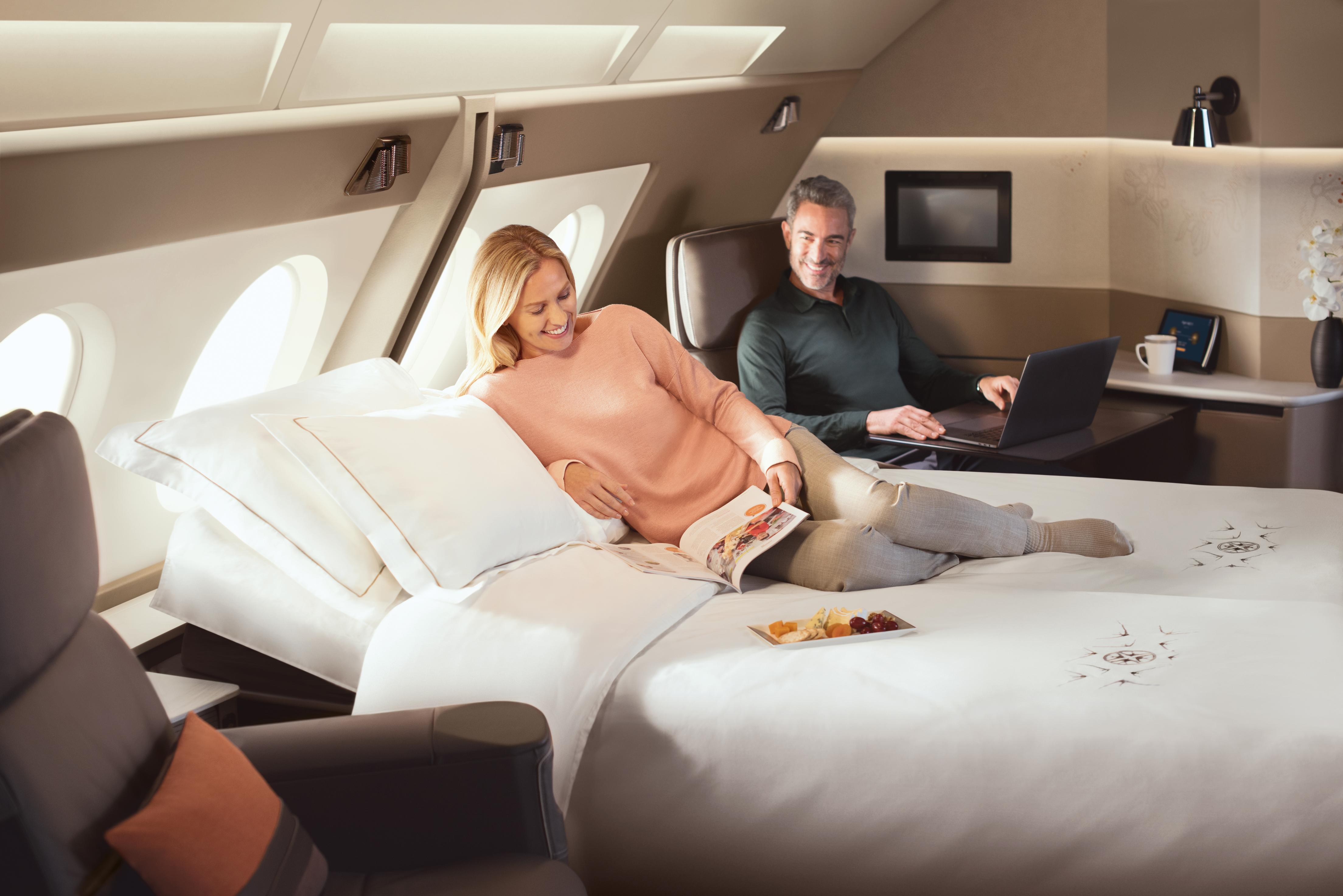 Singapore Airlinesu0027 Double Bed Suites Shake Up Flying | CNN Travel