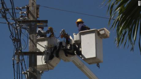 Some Puerto Rico residents still without power