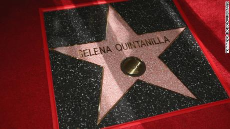 HOLLYWOOD, CA - NOVEMBER 03:  A general view of the atmosphere during a ceremony honoring Selena Quintanilla with a star on The Hollywood Walk Of Fame on November 3, 2017 in Hollywood, California.  (Photo by Tommaso Boddi/WireImage)