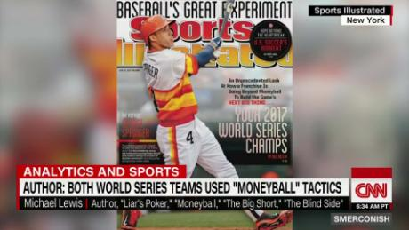 Lewis: both 2017 World Series teams used 'Moneyball'_00000427