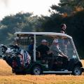 trump shinzo abe golf buggy Kasumigaseki Country Club Golf Course