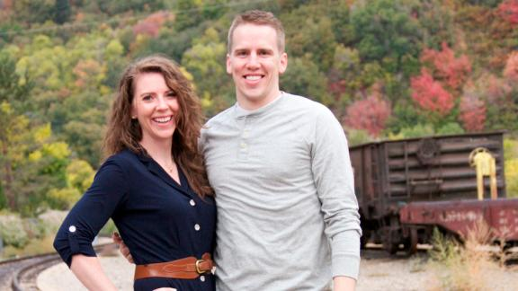 Kendra and Mike Taylor are hoping to adopt siblings from foster care.