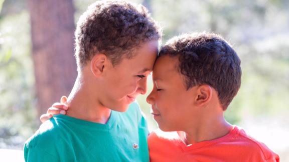 The Stewart boys, Sam, 11, and Jack, 9, became part of a family after the adoption tax credit helped make it financially possible for their parents.