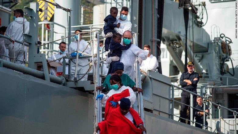 26 girls found dead in Mediterranean