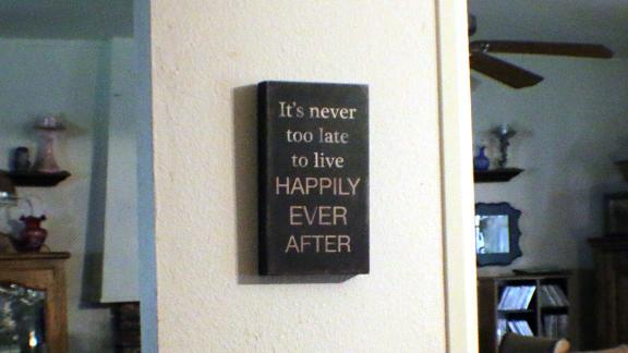 A sign that hangs in Deborah Giannecchini