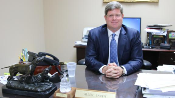 Mississippi attorney Allen Smith is part of the team suing Johnson & Johnson.