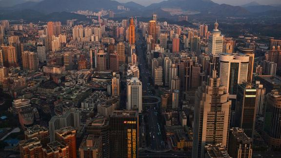 9. Shenzhen: Tourism is on the up in this wealthy Chinese city, which is predicted to receive an increase of 3.1% visitors by the close of 2017.