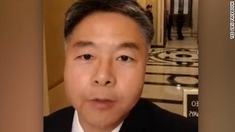 Rep. Ted Lieu walkout