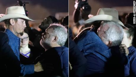 Strangers who banded together to stop the Texas church shooter reunite as heroes