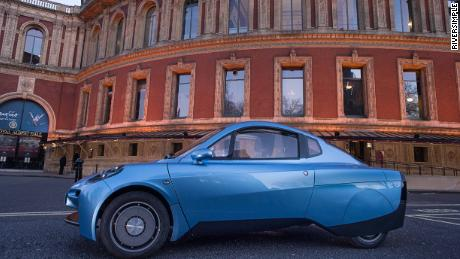 The tiny Welsh car that runs on hydrogen and emits only water