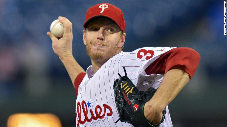 Roy Halladay pitched 16 seasons in the major leagues.