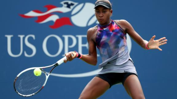 """""""Overall, I want to be the best I can be and be the greatest,"""" Gauff told CNN Sport last year after losing the US Open junior final to 16-year-old American Amanda Anisimova."""