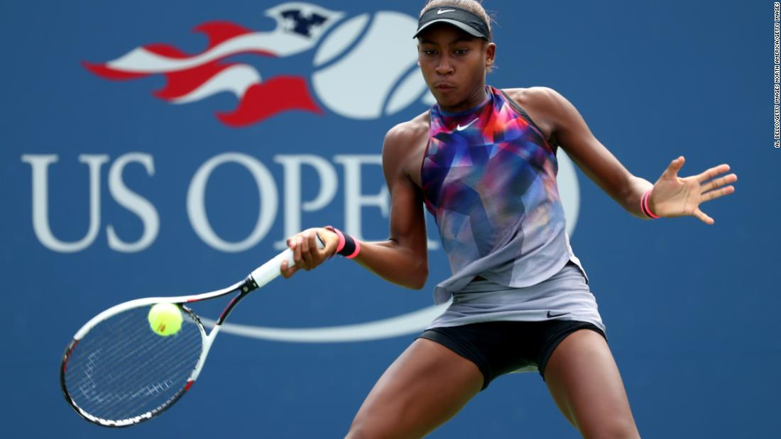 """Overall, I want to be the best I can be and be the greatest,"" Gauff told CNN Sport last year after losing the US Open junior final to 16-year-old American Amanda Anisimova."