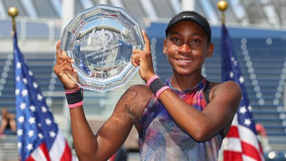 Gauff is subject to the sport