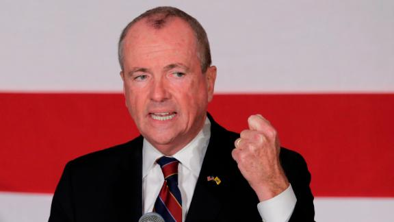 PARAMUS, NJ - OCTOBER 24: Democratic candidate Phil Murphy, who is running for the governor of New Jersey speaks to attendees during a rally on October 24, 2017 in Paramus, New Jersey. The gubernatorial election of 2017 will take place on November 7, where Democratic candidate Phil Murphy and Republican Lt. Gov. Kim Guadagno lead the polls in the race to succeed Chris Christie as New Jersey's governor. (Photo by Eduardo Munoz Alvarez/Getty Images)