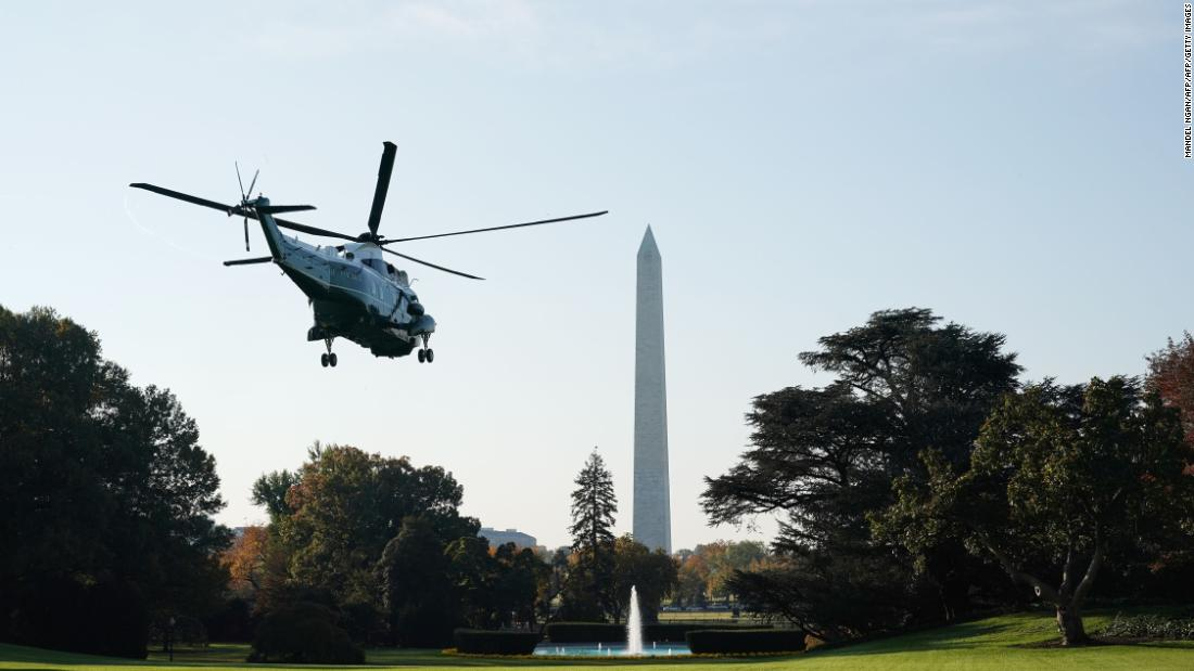 Trump tours new Marine One to-be: VH 92 helicopter