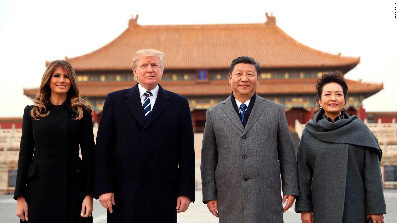 Trump once trashed China. Now, they're friends - CNNPolitics