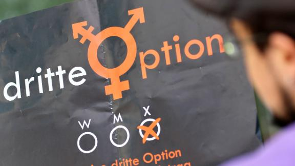 """Activists from """"Dritte Option"""" (""""Third Option"""") have lobbied since 2014 for a third gender to be recognized."""