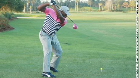 Allen can generate club-head speeds in excess of 150mph.