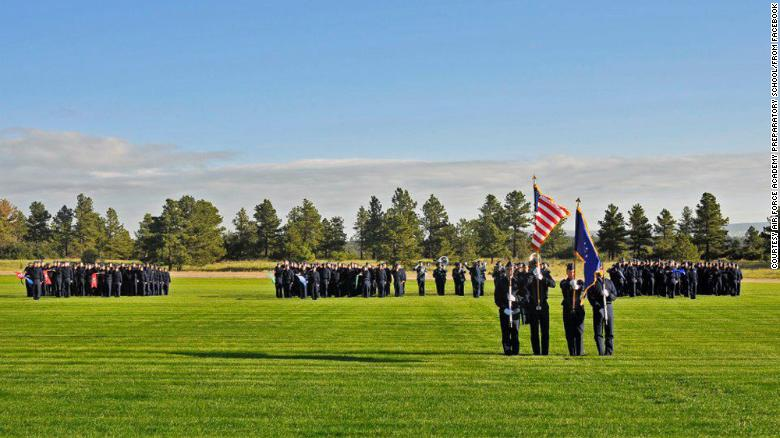 Air Force Academy: Black cadet wrote slurs