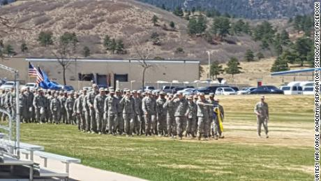 A black cadet wrote the racist graffiti found at Air Force Academy