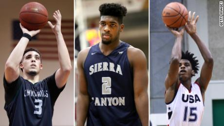 3 UCLA basketball players arrested in China arrive back in US