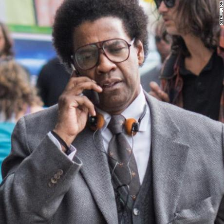 Denzel Washington in 'Roman J. Israel Esq.'