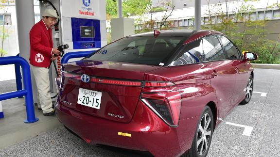 While hydrogen fuel cell technology continues to develop, there are only approximately 7,000 hydrogen fuel cell vehicles on the roads, according to the Hydrogen Council. This figure is expected to reach 10,000 by early 2018.   Three popular models include the Toyota Mirai (pictured,) Hyundai Tucson FCEV and Honda Clarity.