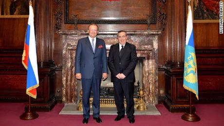 Joseph Mifsud met with the Russian ambassador to the UK Alexander Yakovenko in May 2014.