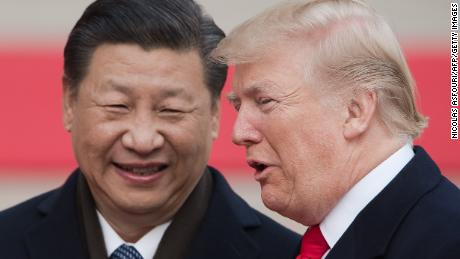 Trump sticks two thumbs in China's eye