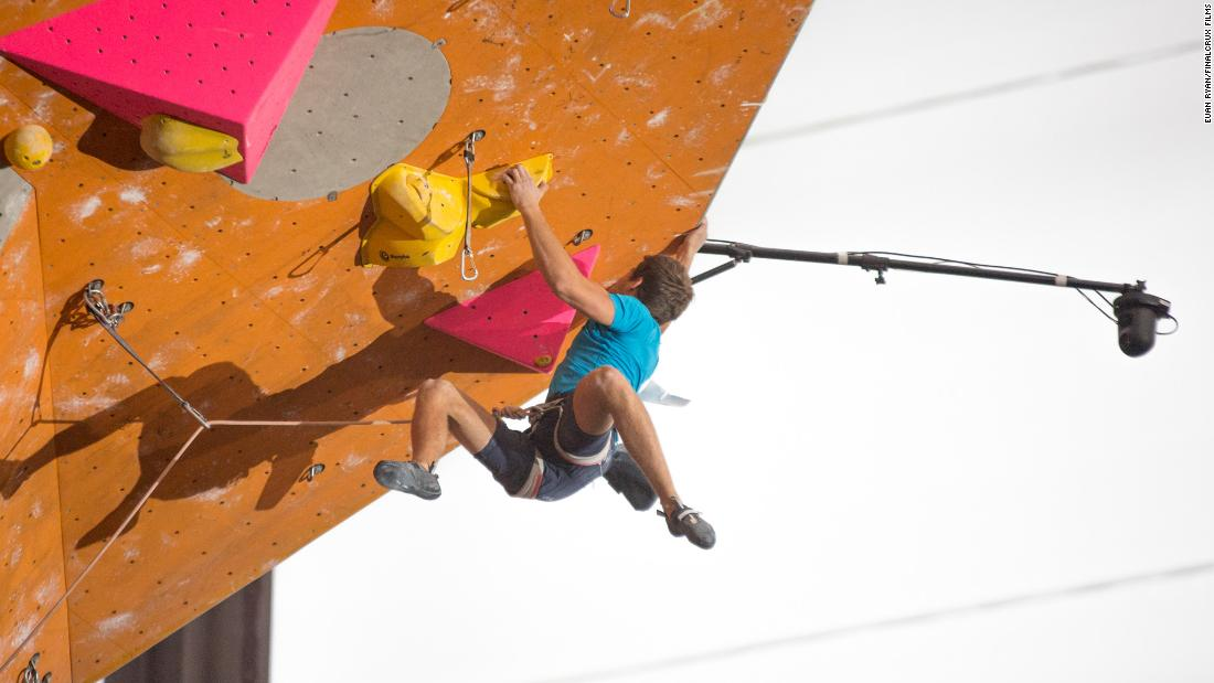 Many of the best climbers competed at the Edinburgh World Cup this year. The sport will be featured for the first time at the 2020 Olympics.
