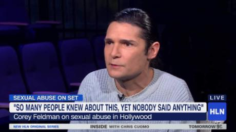 corey feldman interview carol costello lapd hollywood pedophilia_00023320