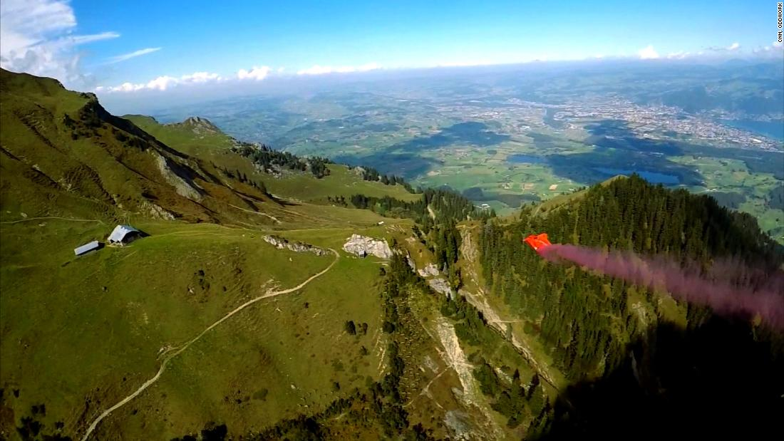 Wingsuit wonder Anton 'Squeezer' Andersson reaches new daredevil limits